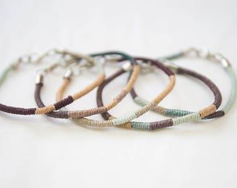 Cord Wrap Bracelet
