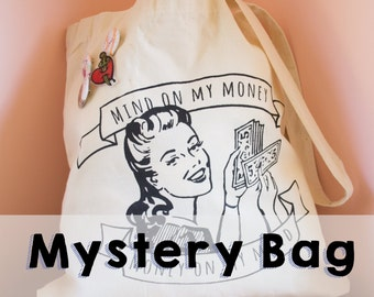 Mystery Bag!!! // Money On My Mind Tote Bag
