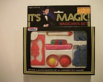 Vintage It's Magic! Children's Magician Set by Mannix- MISB- Set #1 of 4