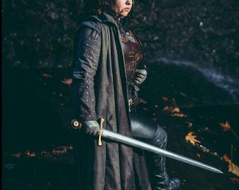 Yara Greyjoy cosplay Overcoat and Jerkin Game of Thrones House Greyjoy cosplay