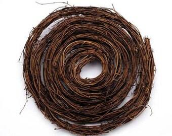 Grapevine Twig Garland- 15 feet- Natural Twig Grapevine