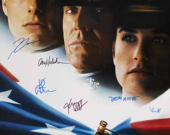 "Signed ""a Few Good Men"" Movie Poster"