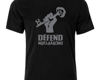 Defend Encryption T-Shirt - available in many sizes and colors