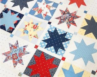 Hometown Quilt Pattern PDF