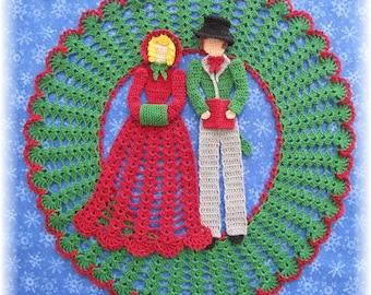 PDF Crochet Pattern- God Rest Ye Merry Gentleman Doily