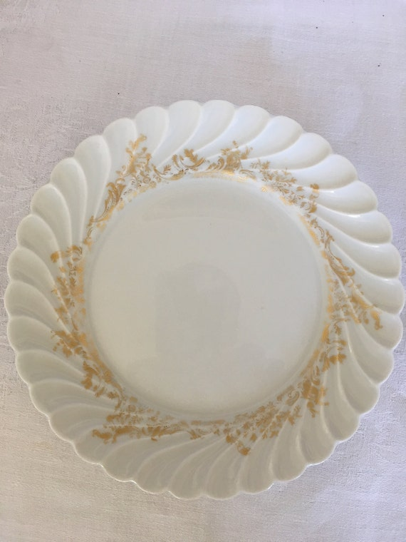 Set/6 Bread & Butter and 10 Saucers Haviland Limoges Ladore Pattern