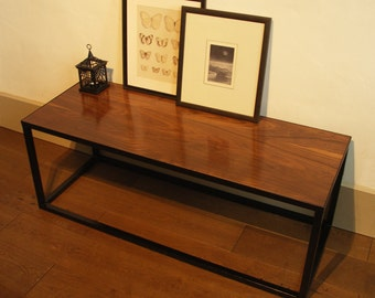 American black walnut coffee table