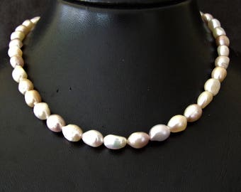 Necklace sweet water pearls