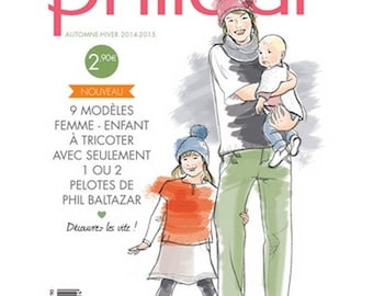 Mini-Catalogue No. 586 family children and women with wool BALTAZAR
