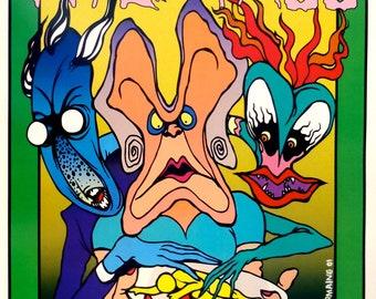 Pink Floyd Laser Show, 2001 ARTIST PROOF
