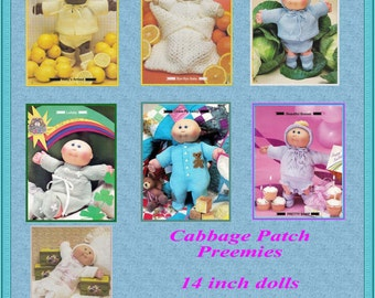 Cabbage Patch Preemies - 14 inch dolls