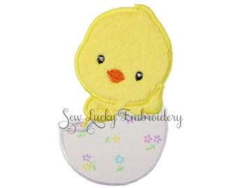 Easter chick patch - Easter patch - Chicken patch - Easter applique - Baby Chick Patch - Iron on patch - Embroidered patch - appliqué