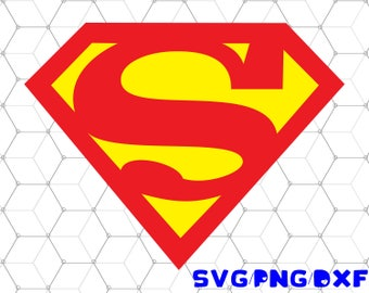 Superman svg,dxf,png/Superman clipart