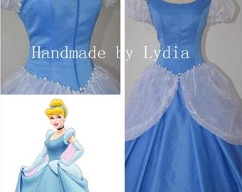 Handmade - Cinderella Costume, Cinderella Cosplay Costume, Cinderella Dress