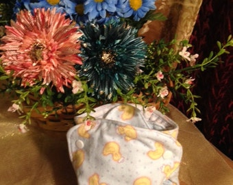 Duckie Cloth Nykibaby Butterfly Diaper 0 to 3 months