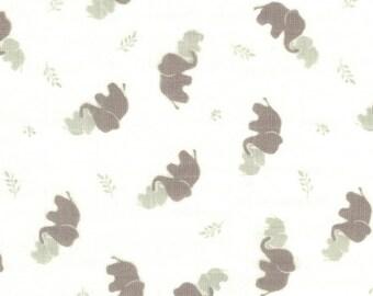 Elephants - Gray - Bambino Swaddle - Camelot Fabrics
