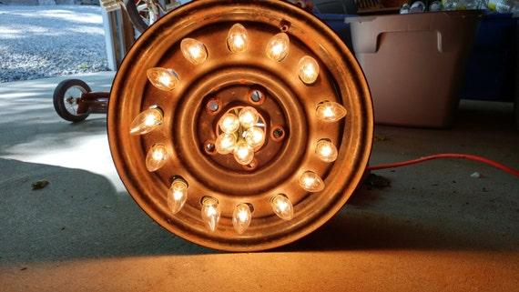 Car Tire Rim Light
