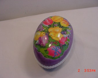 Vintage Nestler Made In Germany Paper Easter Egg Candy Container  18 - 1173