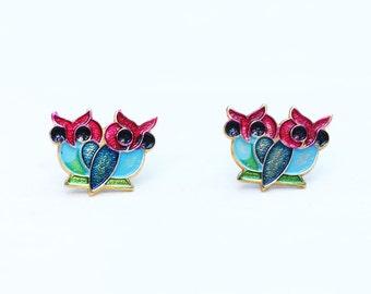 Blue Owl Studs