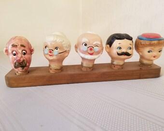 Vintage cork heads