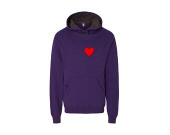 Purple Heart Hoodie [HeartMe]