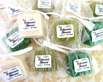 Greenery Wedding Favor Laurel Botanical Wedding Favors Guest Wedding Soap Favors Bridal Shower Favor Shower to Yours Baby Shower Favors