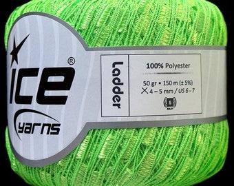ICE Ladder yarn Phosphoric Green