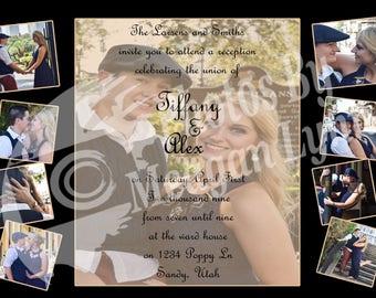 Picture Perfect Wedding Invitation *DIGITAL*