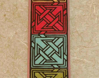 Wall Plaque with Korean Hanji Paper Cutting