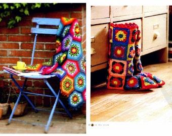 23 Colorful Crochet Designs - Crochet Patterns - Crochet Motifs Patterns -  japanese crochet ebook - PDF - pattern - instant download