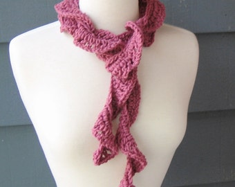 CROCHET PATTERN / DIY Project - Ruffle Scarf No. 3 (Not the actual scarf)