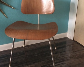 Vintage 60s Herman Miller Charles And Ray Eames DCM All Original