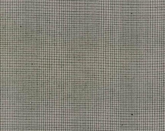 Studio Stash Yarn Dye - Charcoal Plaid - 1/2yd