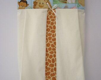 Jungle Babies Nappy Diaper Stacker 100% Cotton