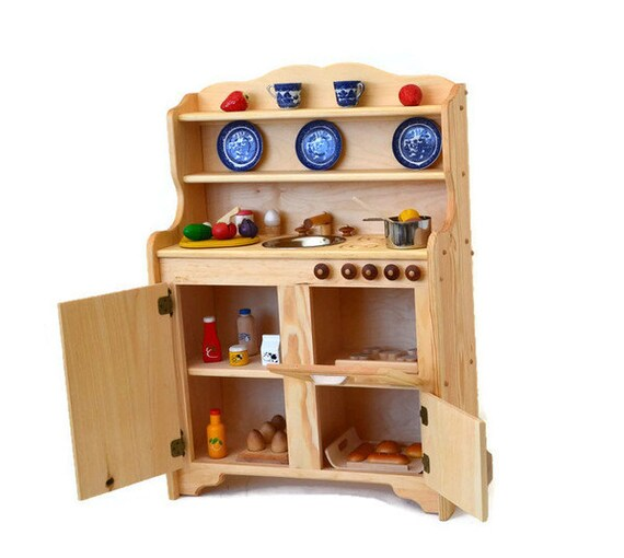 Kids Play Kitchen Wood: Waldorf Kitchen-Wooden Play Kitchen-Wooden Toy Kitchen