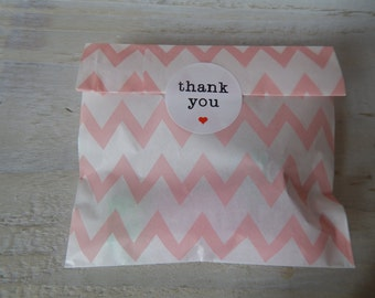 Thank you stickers - wedding/packaging 1.5 inches 12 per sheet