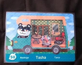 Tasha the Snooty Squirrel #50 Animal Crossing RV Amilibo Card