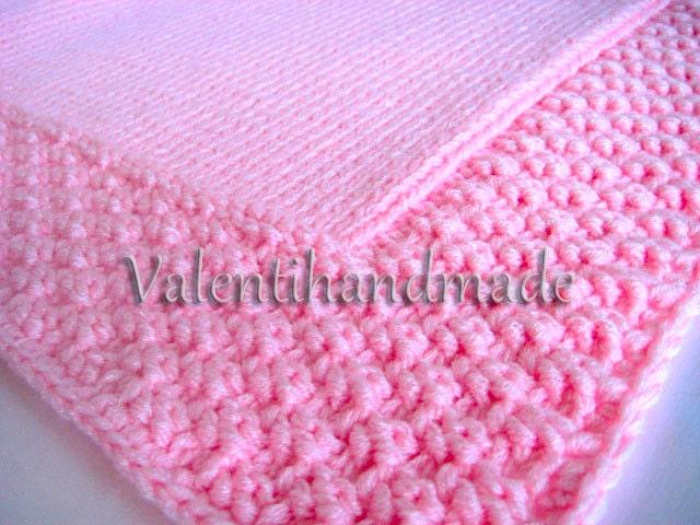 Baby Blanket Knitting Pattern, Knit Blanket, Baby blanket Pattern ...