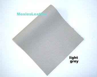 Grey leather piece blue cream  orange leather genuine leather piece , soft leather journal jewellery