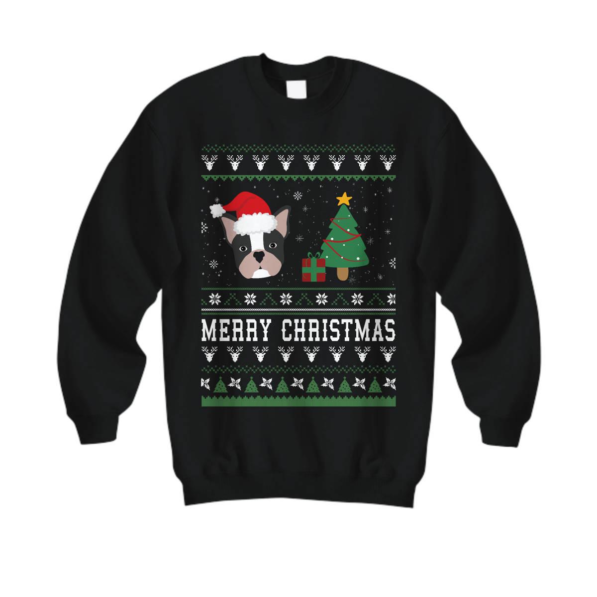 Merry Christmas Frenchie, French Bulldog Christmas Sweatshirt, Frenchie Sweater, French Bulldog Shirt, French Bulldog, French Bulldog Gifts,