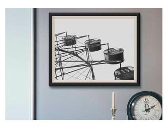 Ferris wheel - Gallery print