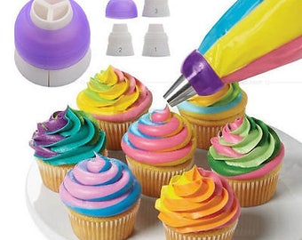 Icing Piping Nozzles Tips Pastry Bag Cake Cupcake Sugarcraft Decorating Tool NEW