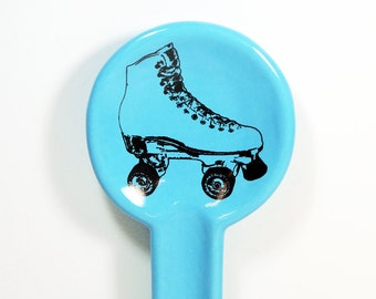 spoon rest with a rollerskate on it. Made to Order / Pick Your Colour