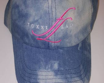 Acid wash Foxxiladi Logo Hat