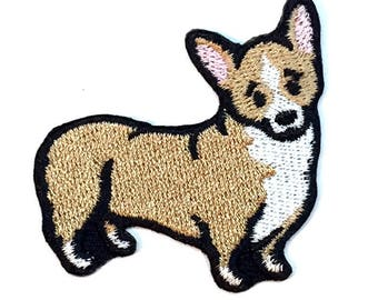 Pembroke Welsh Corgi Iron on Patch No Name