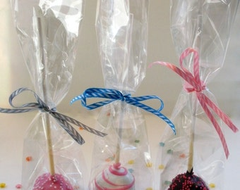 50 Cake Pop Macaron Bags Perfect For Pops Mini Cupcakes And Rock