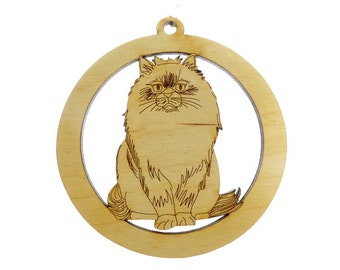 Himalayan Ornament -  Cat Ornaments - Cat Ornament  - Cat Gifts - Cat Lady Gift - Christmas Cat - Cat Decor - Personalized Free