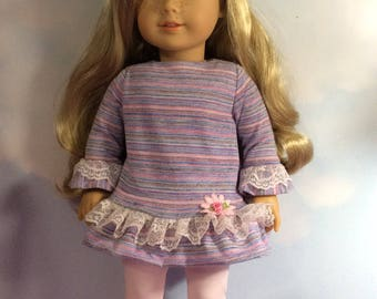 """Top and leggings fits 18"""" American girl dolls and dolls similar to size"""