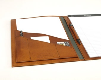 Executive Leather Notebook
