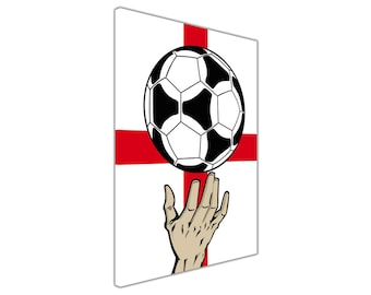 Hand Of God Football Prints Canvas Wall Art Picture Home Decoration Framed Poster Modern Art Giclee Ready To Hang Maradona World Cup England